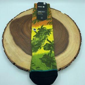 Stance Men's Golden Palm Socks Sz 6-8.5